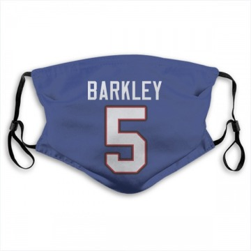 Buffalo Bills Matt Barkley Royal Blue Jersey Name & Number Face Mask