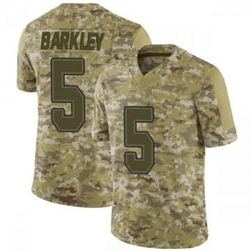 Men's Buffalo Bills Matt Barkley Camo 2018 Salute to Service Jersey - Limited