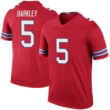 Men's Buffalo Bills Matt Barkley Red Color Rush Jersey - Legend