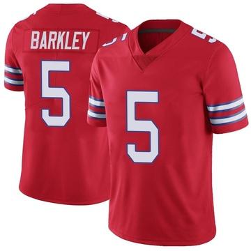 Men's Nike Buffalo Bills Matt Barkley Red Color Rush Vapor Untouchable Jersey - Limited