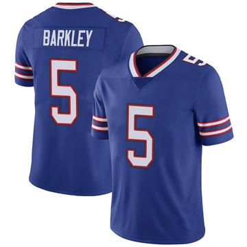 Men's Nike Buffalo Bills Matt Barkley Royal 100th Vapor Jersey - Limited