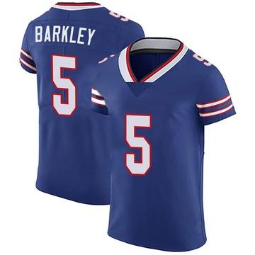 Men's Nike Buffalo Bills Matt Barkley Royal Blue Team Color Vapor Untouchable Jersey - Elite