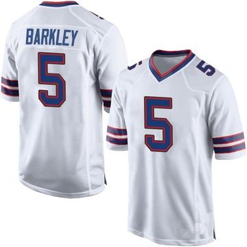 Men's Nike Buffalo Bills Matt Barkley White Jersey - Game
