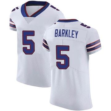 Men's Nike Buffalo Bills Matt Barkley White Vapor Untouchable Jersey - Elite