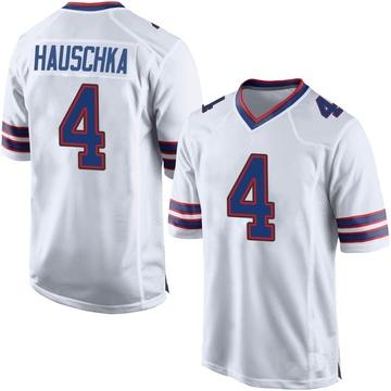 Men's Nike Buffalo Bills Stephen Hauschka White Jersey - Game