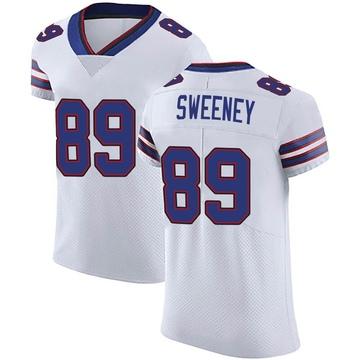 Men's Nike Buffalo Bills Tommy Sweeney White Vapor Untouchable Jersey - Elite
