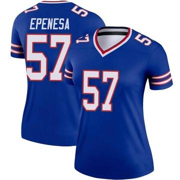 Women's Nike Buffalo Bills AJ Epenesa Royal Jersey - Legend