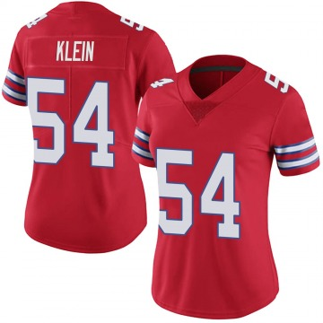 Women's Nike Buffalo Bills A.J. Klein Red Color Rush Vapor Untouchable Jersey - Limited