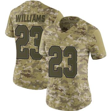 Women's Nike Buffalo Bills Aaron Williams Camo 2018 Salute to Service Jersey - Limited