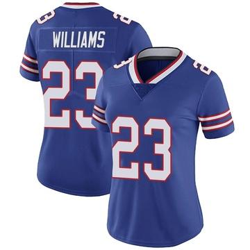 Women's Nike Buffalo Bills Aaron Williams Royal Team Color Vapor Untouchable Jersey - Limited