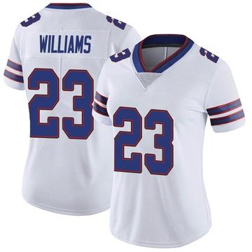 Women's Nike Buffalo Bills Aaron Williams White Color Rush Vapor Untouchable Jersey - Limited