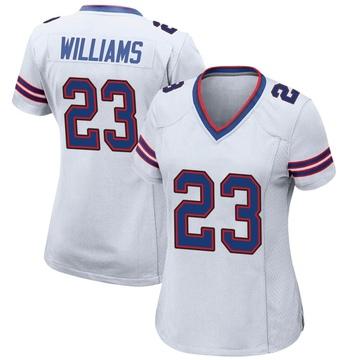 Women's Nike Buffalo Bills Aaron Williams White Jersey - Game