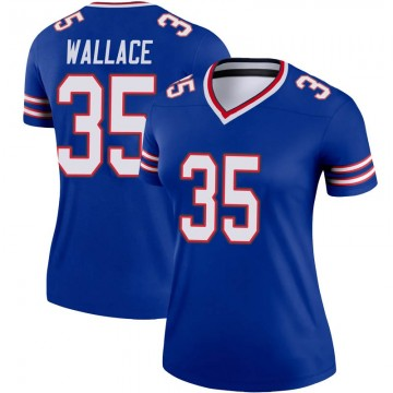 Women's Nike Buffalo Bills Abraham Wallace Royal Jersey - Legend