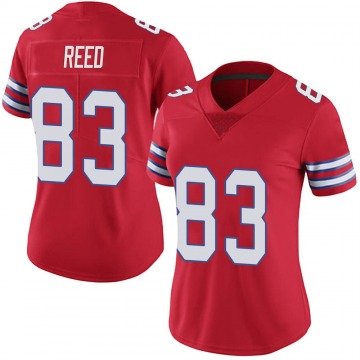 Women's Nike Buffalo Bills Andre Reed Red Color Rush Vapor Untouchable Jersey - Limited