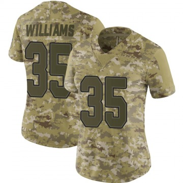 Women's Nike Buffalo Bills Antonio Williams Camo 2018 Salute to Service Jersey - Limited