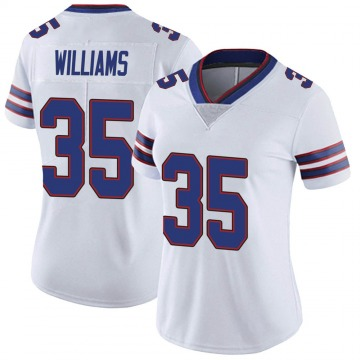 Women's Nike Buffalo Bills Antonio Williams White Color Rush Vapor Untouchable Jersey - Limited