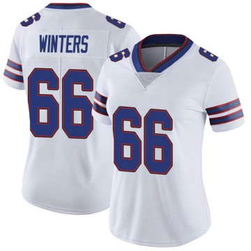 Women's Nike Buffalo Bills Brian Winters White Color Rush Vapor Untouchable Jersey - Limited