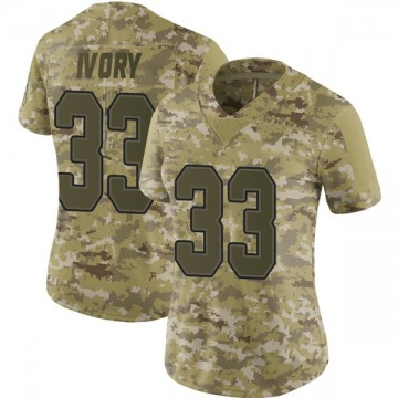 Women's Nike Buffalo Bills Chris Ivory Camo 2018 Salute to Service Jersey - Limited