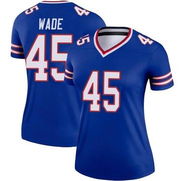 Women's Nike Buffalo Bills Christian Wade Royal Jersey - Legend