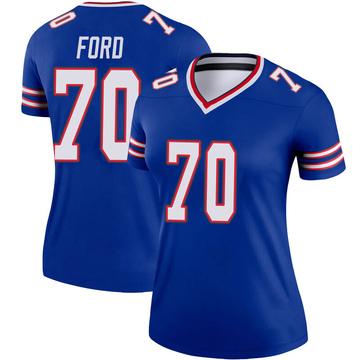 Women's Nike Buffalo Bills Cody Ford Royal Jersey - Legend