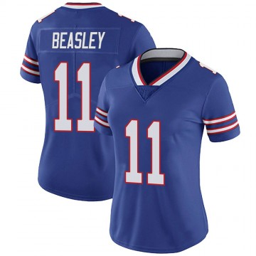 Women's Nike Buffalo Bills Cole Beasley Royal 100th Vapor Jersey - Limited