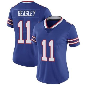 Women's Nike Buffalo Bills Cole Beasley Royal Team Color Vapor Untouchable Jersey - Limited