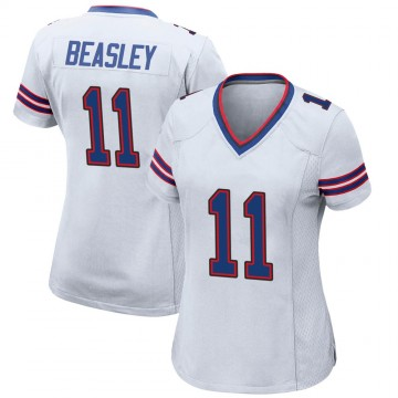 Women's Nike Buffalo Bills Cole Beasley White Jersey - Game