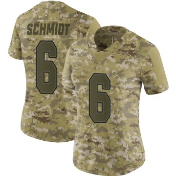Women's Nike Buffalo Bills Colton Schmidt Camo 2018 Salute to Service Jersey - Limited