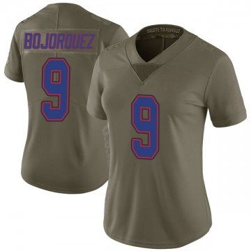 Women's Nike Buffalo Bills Corey Bojorquez Green 2017 Salute to Service Jersey - Limited