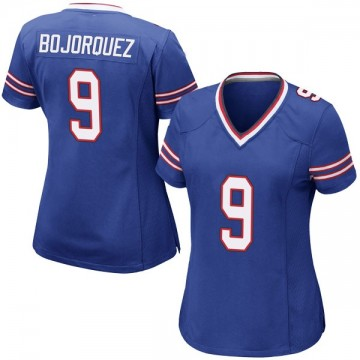 Women's Nike Buffalo Bills Corey Bojorquez Royal Blue Team Color Jersey - Game