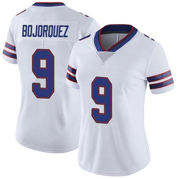Women's Nike Buffalo Bills Corey Bojorquez White Color Rush Vapor Untouchable Jersey - Limited