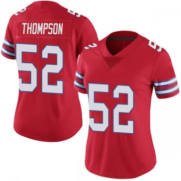 Women's Nike Buffalo Bills Corey Thompson Red Color Rush Vapor Untouchable Jersey - Limited