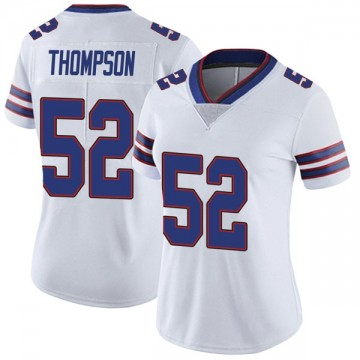 Women's Nike Buffalo Bills Corey Thompson White Color Rush Vapor Untouchable Jersey - Limited