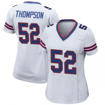 Women's Nike Buffalo Bills Corey Thompson White Jersey - Game