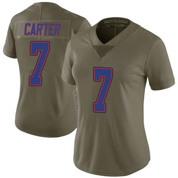 Women's Nike Buffalo Bills Cory Carter Green 2017 Salute to Service Jersey - Limited