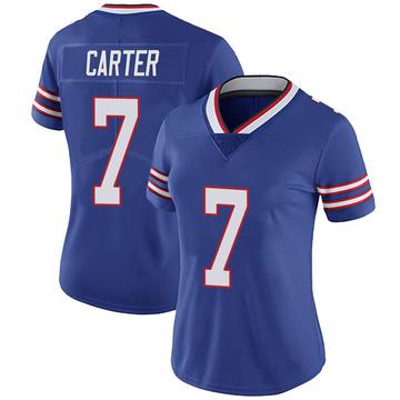 Women's Nike Buffalo Bills Cory Carter Royal Team Color Vapor Untouchable Jersey - Limited