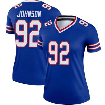 Women's Nike Buffalo Bills Darryl Johnson Jr. Royal Jersey - Legend