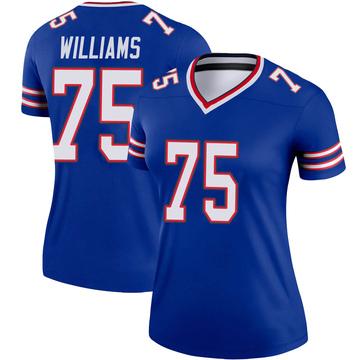 Women's Nike Buffalo Bills Daryl Williams Royal Jersey - Legend