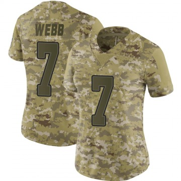 Women's Nike Buffalo Bills Davis Webb Camo 2018 Salute to Service Jersey - Limited