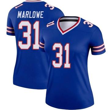 Women's Nike Buffalo Bills Dean Marlowe Royal Jersey - Legend