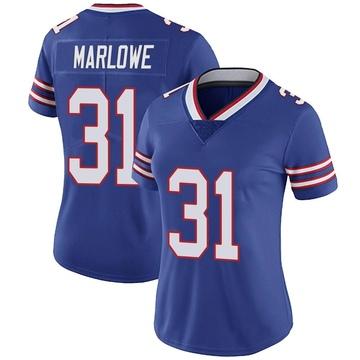 Women's Nike Buffalo Bills Dean Marlowe Royal Team Color Vapor Untouchable Jersey - Limited