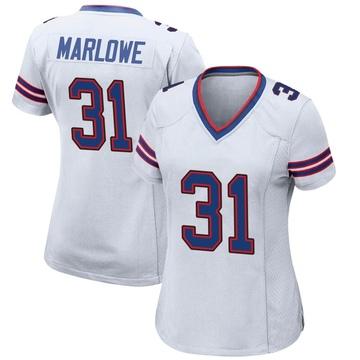 Women's Nike Buffalo Bills Dean Marlowe White Jersey - Game