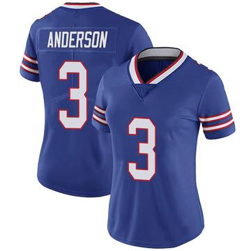 Women's Nike Buffalo Bills Derek Anderson Royal 100th Vapor Jersey - Limited