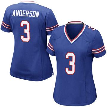 Women's Nike Buffalo Bills Derek Anderson Royal Blue Team Color Jersey - Game