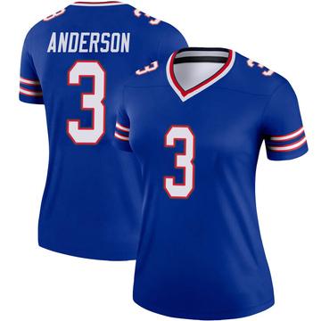 Women's Nike Buffalo Bills Derek Anderson Royal Jersey - Legend