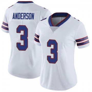 Women's Nike Buffalo Bills Derek Anderson White Color Rush Vapor Untouchable Jersey - Limited