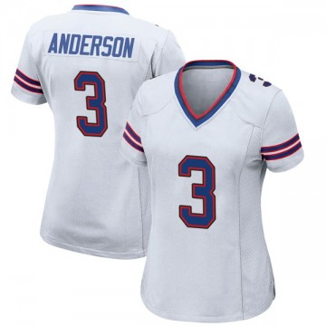 Women's Nike Buffalo Bills Derek Anderson White Jersey - Game