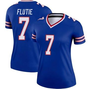 Women's Nike Buffalo Bills Doug Flutie Royal Jersey - Legend