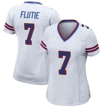 Women's Nike Buffalo Bills Doug Flutie White Jersey - Game