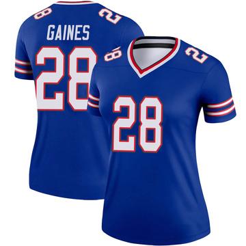 Women's Nike Buffalo Bills E.J. Gaines Royal Jersey - Legend